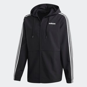 Adidas Essentials 3 Stripes Woven Windbreaker